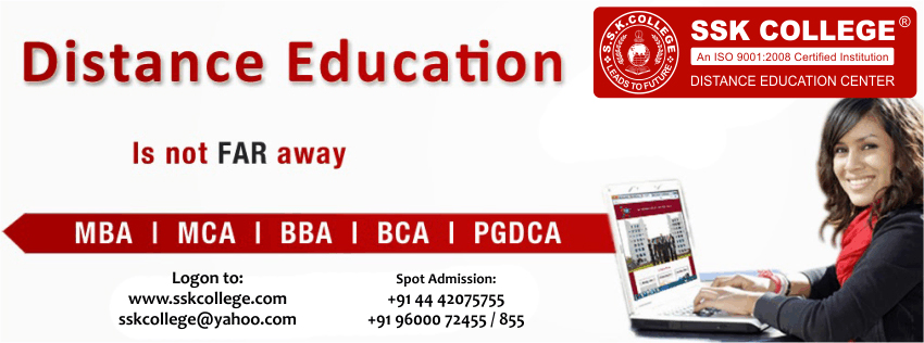 Distance learning for MBA in India